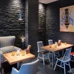 Stone Texture Wall Panels Strata-Black-In-Restaurant-Of-Hotel-Near-Tower-Bridge-London (2)