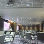 Vtec Supacoustic ceilings finished in gloss white in London-Hotel - 5