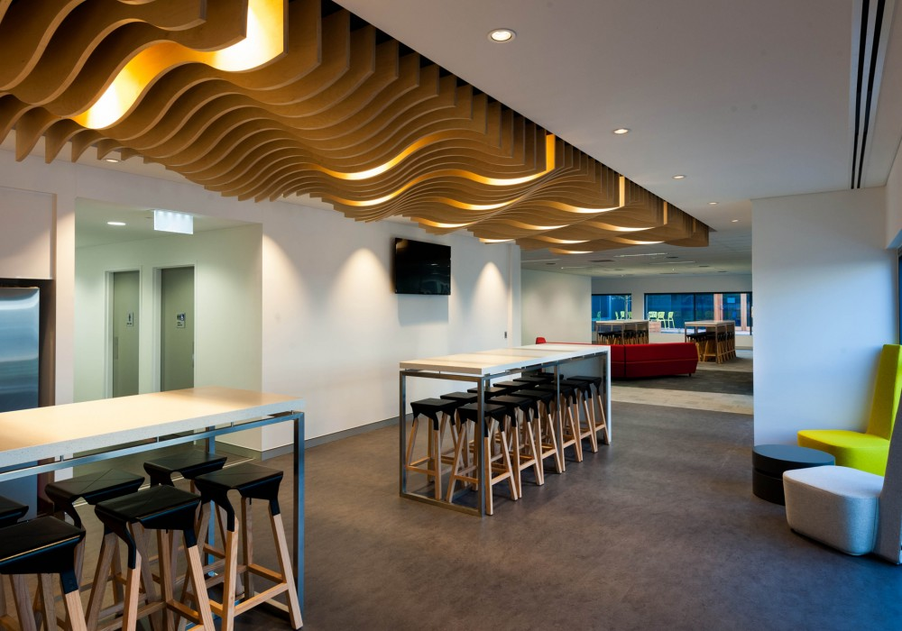 Acoustic Slatted Timber Wall Ceiling Slatted Panels