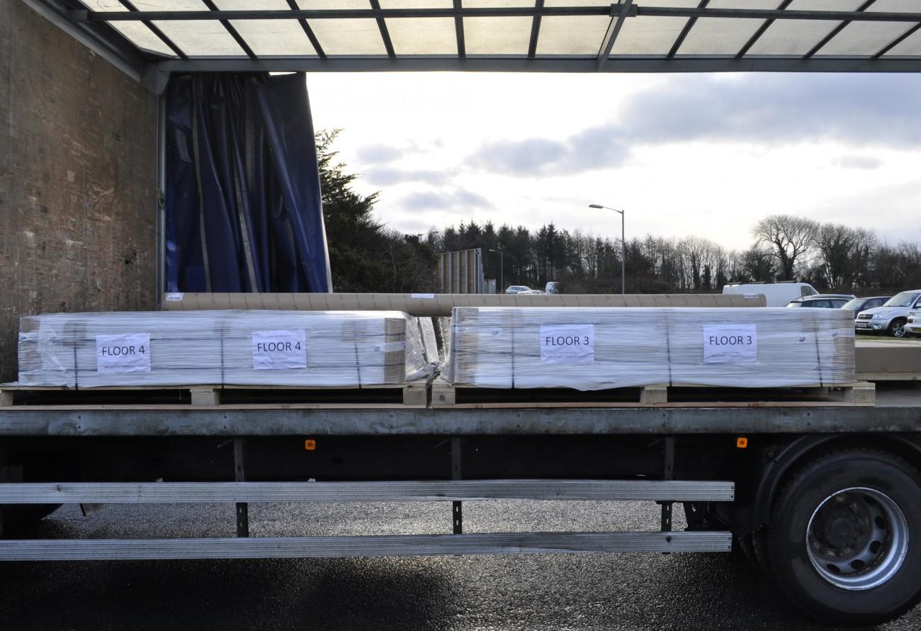 Vtec Factory Texture Wall Panels Shipment
