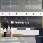 Bespoke-3D-Panel-In-Gloss-Metallic-Black-For-Office-Complex-Reception-Corridors-And-Ballustrades 1