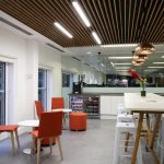 supaslat-5-screw-fix-panels-redwood-with-light-stain-for-london-office-reception-and-break-out-area-4