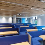 Vtec Acoustic Ceiling Supaslat 4  in York University Lecture Theatre 1