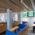 Vtec Acoustic Ceiling Supaslat 4  in York University Lecture Theatre
