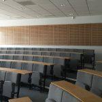 Vtec Supacoustic panels oak-veneer-in-clear-fr-lacquer education-hub-6