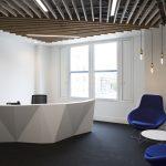 Vtec Supaslat 6 timber slatted ceiling for a Premier Mortgage Broker 5