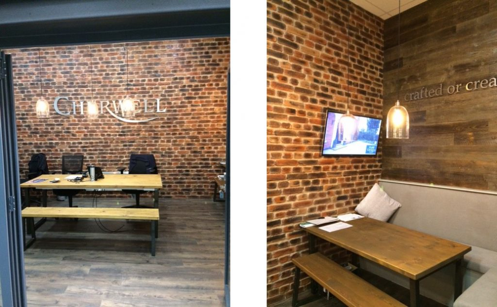 London Brick Multi for a Showroom