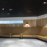 Vtec Timber Slatted Ceiling Supaslat 4 Class A Office building-5