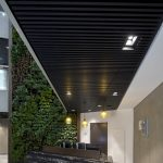 Vtec Slatted Timber Ceiling Supaslat 4 Class A Office building-7