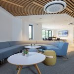 Vtec Timber Slatted Ceilings Supaslat 3 in South Coast Offices-10