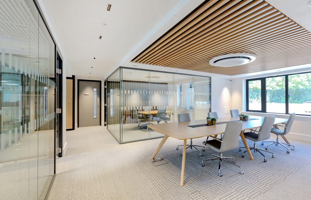 Individual office and small breakout area - commercial office