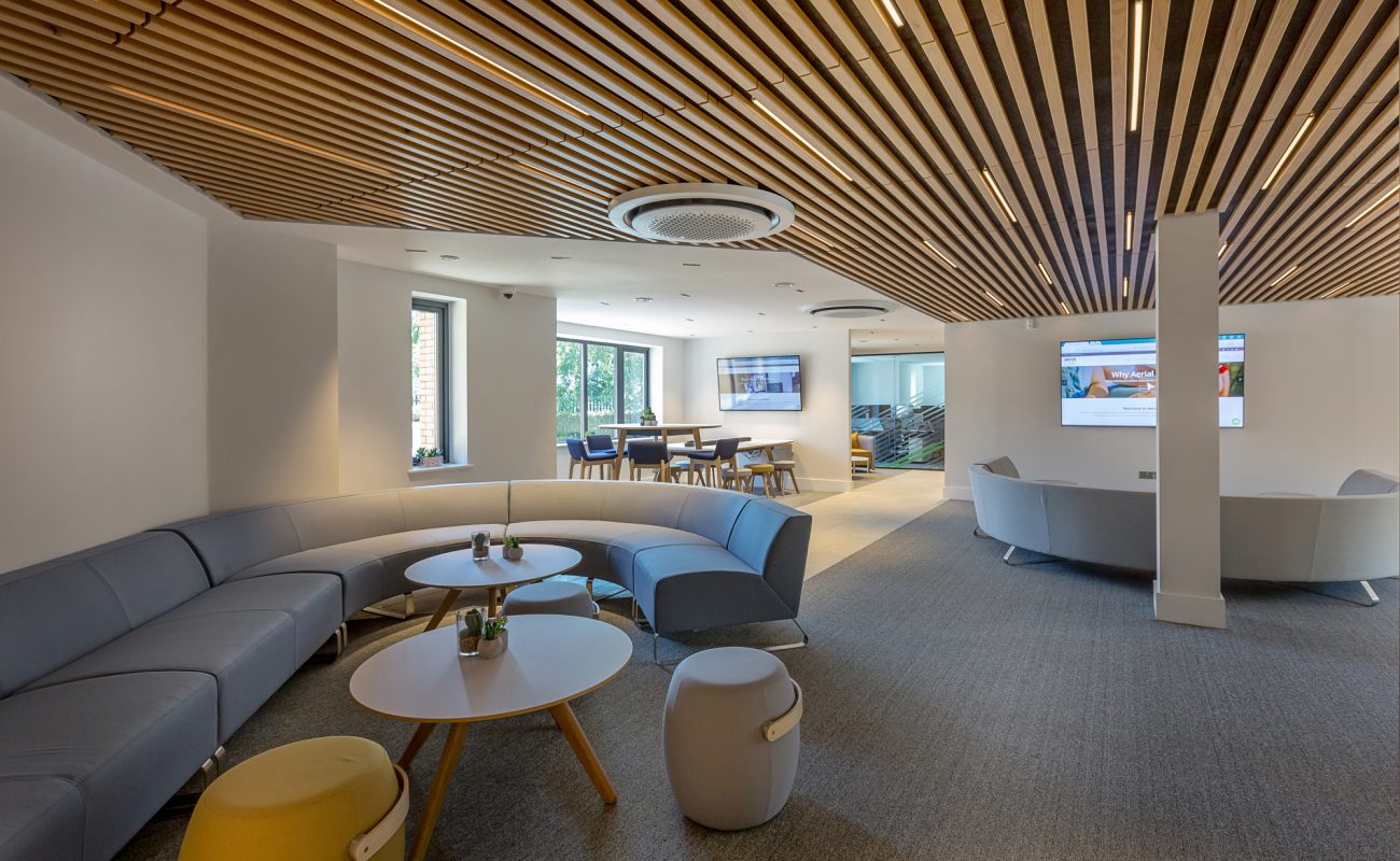 interior ceiling tiles in offices