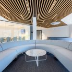 Vtec Timber Slatted Ceilings Supaslat 3 in South Coast Offices-20