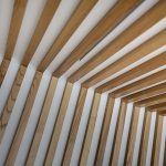 Vtec Timber Slatted Ceilings Supaslat 3 in South Coast Offices-24