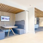 Vtec Timber Slatted Ceilings Supaslat 3 in South Coast Offices-3