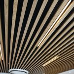 Vtec Timber Slatted Ceilings Supaslat 3 in South Coast Offices-4