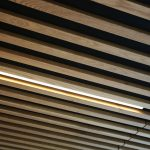 Vtec Timber Slatted Ceilings Supaslat 3 in South Coast Offices-6