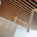 Vtec Timber Slatted Ceilings Supaslat 3 in South Coast Offices-9