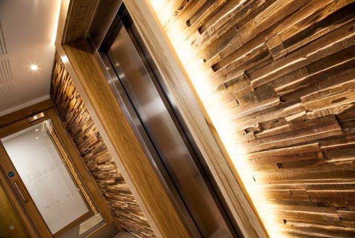 Timber Panels Lobby