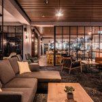 Vtec Timber Slatted Ceilings Supaslat 3 in Gatwick Lounge-11