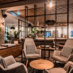 Vtec Timber Slatted Ceilings Supaslat 3 in Gatwick Lounge-13