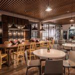 Vtec Timber Slatted Ceilings Supaslat 3 in Gatwick Lounge-3
