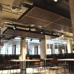 Vtec Supacoustic Rafts Coworking space Manchester
