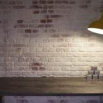 London Brick  Distressed White Clerkenwell Showroom