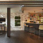 London Brick Rustic Timber Clerkenwell Showroom