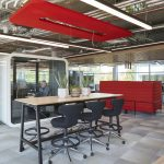 MaxiBeam Lightweight Acoustic Beams for a Dynamic Office