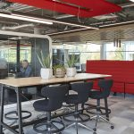MaxiBeam Lightweight Acoustic Beams for a Dynamic Office-2