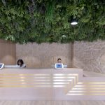 Stone Panels Coworking Office London -1