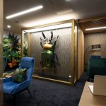 Stone Panels Coworking Office London -16