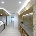 Stone Panels Coworking Office London -3