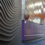 Vtec 3D panels Ripple 2-2 The Lowry Manchester-5