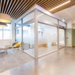 Vtec Lightweight Feature Ceiling Beams Maxibeams University Reception-7