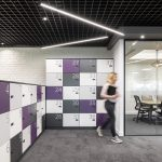 Vtec London Brick White Wall Panels Office Agile Working Area-1