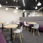 Vtec London Brick White Wall Panels Office Agile Working Area -4