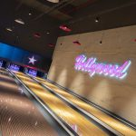 Vtec Rough Concrete Wall Texture Panels in Hollywood Bowling 12