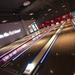 Vtec Rough Concrete Wall Texture Panels in Hollywood Bowling 15