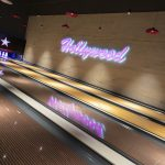 Vtec Rough Concrete Wall Texture Panels in Hollywood Bowling 2