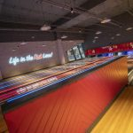 Vtec Rough Concrete Wall Texture Panels in Hollywood Bowling 9