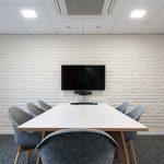 London-Brick-White-Vtec-Texture-Wall-Panels-for-Blake-Office-Boardroom