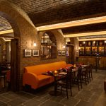 Vtec London_Brick_Multi_Texture Panels On_Curved_Ceiling_For_Bar_In_London-(1)