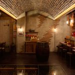 Vtec London_Brick_Multi_Texture Panels On_Curved_Ceiling_For_Bar_In_London-(4)