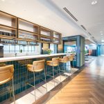 Stunning Open Office Project Oxford Street bar area
