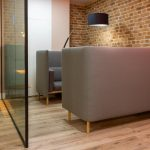 London Brick Wall Panels Sandy Brown Office 38